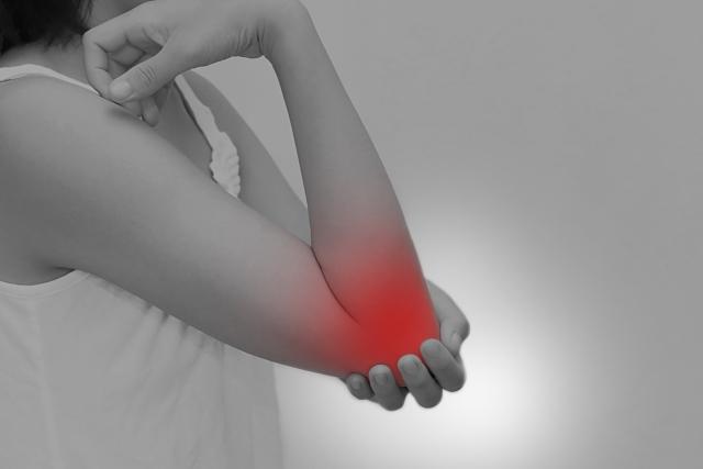 肘や手首の問題