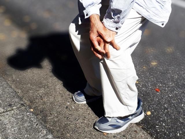 膝関節の問題
